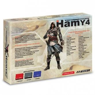 Игровая приставка Sega - Dendy Гами-4 (Hamy 4 SD 350-in-1) - Max Pack - максимальная комплектация