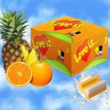 """Блок - жвачки """"Love is.."""" апельсин-ананас"""